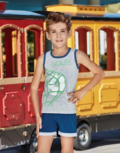 Комплект для мальчика майка и шорты BERRAK