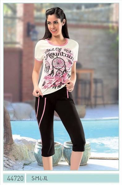 Женский комплект футболка и  капри  ANGEL STORY