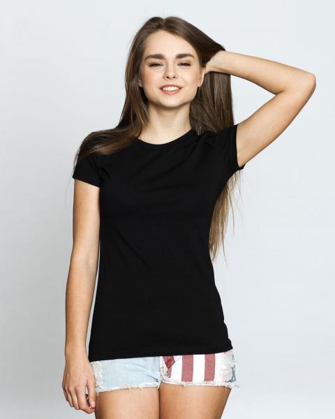 Женская футболка чёрная TM Antana