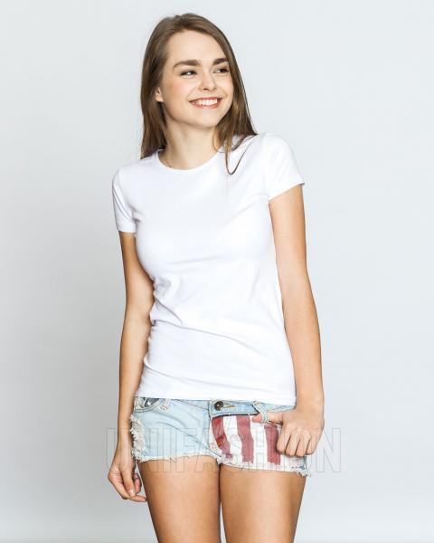 Женская футболка белая ТМ Antana