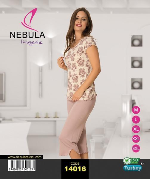 Комплект женский футболка и бриджи  Nebula