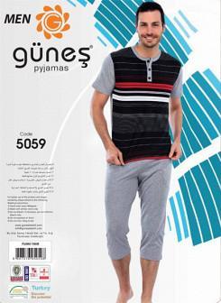 Мужской комплект футболка и шорты GUNES