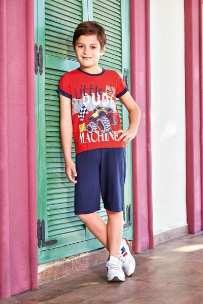 Комплект для мальчика футболка и бриджи BERRAK