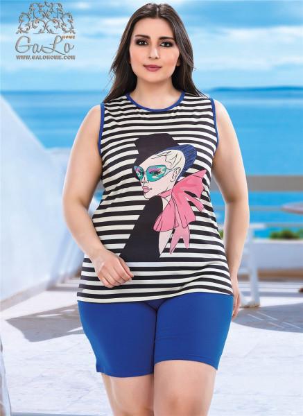 Комплект женский футболка и шорты LADY LINGERIE