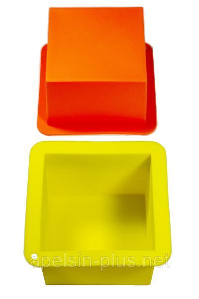 """Силиконовая форма для выпечки """"Куб"""" 8,5 см высота 6,5 см"""