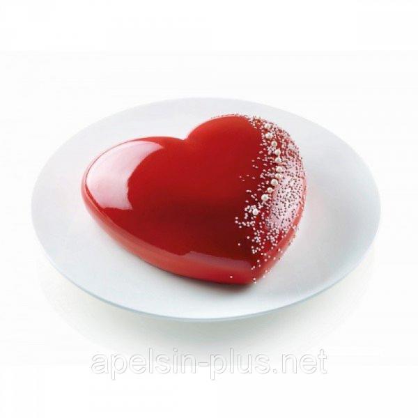 Фото Силиконовые формы для выпечки, Силиконовые формы для евродесертов Силиконовая форма для евродесертов Сердце объем 1520 мл