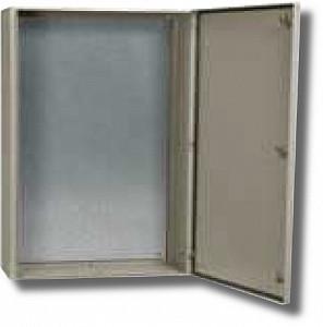 Корпус металлический ЩМП-1-0 74 У2 IP54 с монтажной панелью 330x250 (ВхШхГ) 395x310x220 (YKM40-01-54)