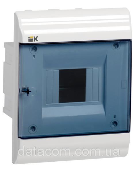 Корпус пластиковый ЩРВ-П- 4 модуля 1 ряд встраиваемый 162x210x102 IP41 PRIME (MKP82-V-04-41-20)