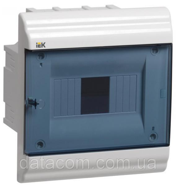 Корпус пластиковый ЩРВ-П- 6 модулей 1 ряд встраиваемый 198x210x102 IP41 PRIME (MKP82-V-06-41-20)