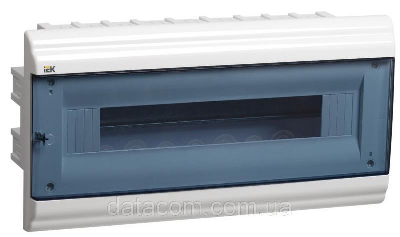 Корпус пластиковый ЩРВ-П-18 модулей 1 ряд встраиваемый 210x414x102 IP41 PRIME (MKP82-V-18-41-10)