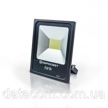 Прожектор EVRO LIGHT 50Вт 6500k BASIC 170-240В 2750Лм