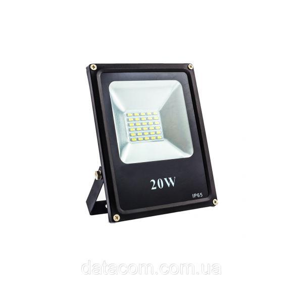 Прожектор светодиодный EVRO LIGHT EV-20-01 20W 180-260V 6400K 1600Lm SMD НМ