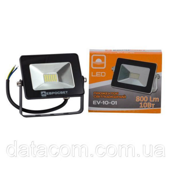 Прожектор светодиодный EVRO LIGHT 10Вт 6500k STAND 180-240В 700Лм