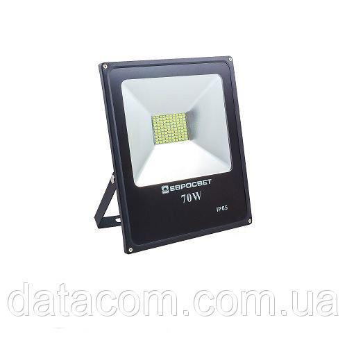 Прожектор светодиодный EVRO LIGHT 70Вт 6500k STAND 170-240В 5600Лм