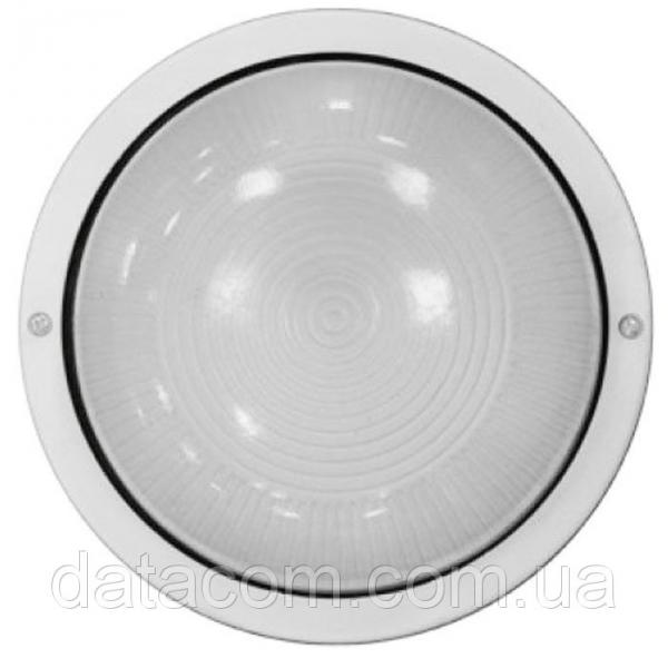 Светильник НПП2602А  белый/круг без решетки пластик 60Вт IP54IEK