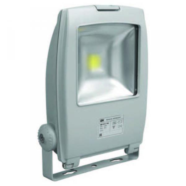 Прожектор СДО03-30 светодиодный серый чип IP65 IEK