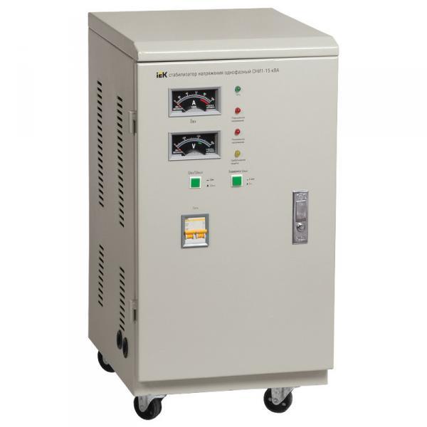 Стабилизатор напряжения СНИ1-10 кВА однофазный IEK