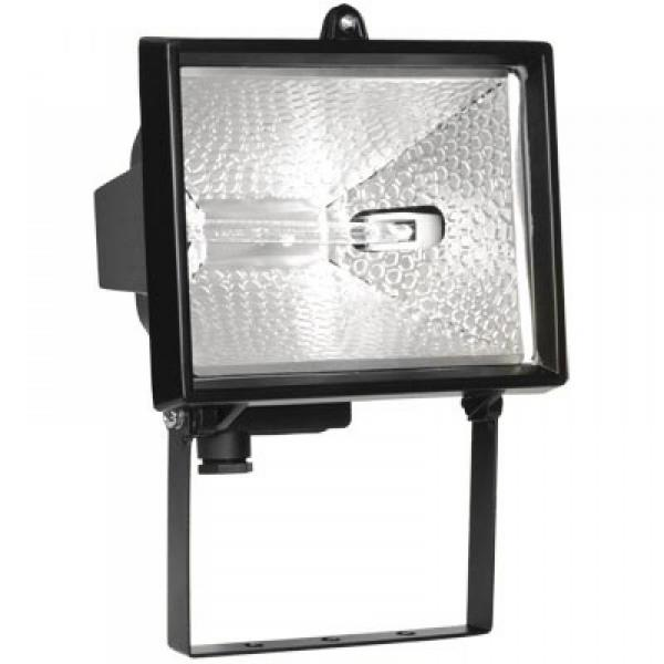 Прожектор ИО 1000 галогенный черный IP 54
