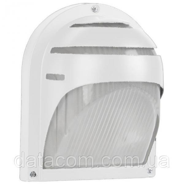 Светильник НПП2501  белый/ресничка 60Вт IP54 IEK