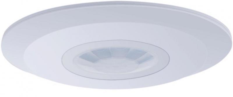 """EUROELECTRIC Датчик движения """"НЛО компакт"""" на потолок 360`, 2-4м, IP20"""