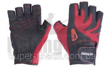 Перчатки спиннингиста Fishing ROI WK-05R XL