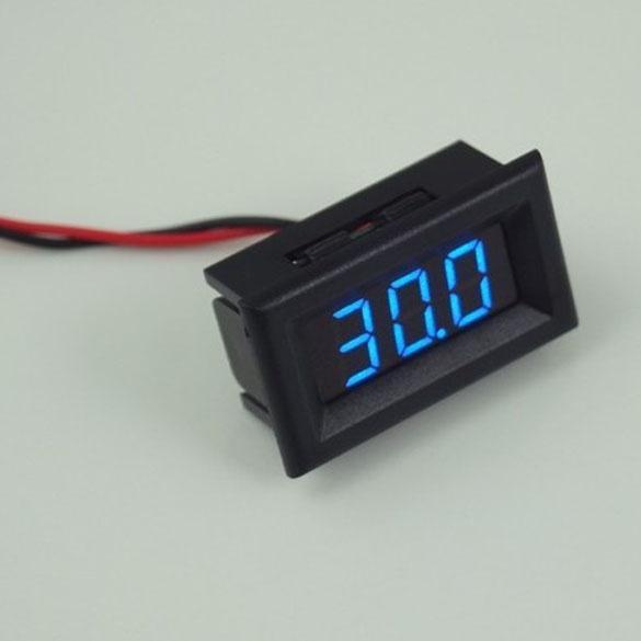 Вольтметр 5-30V синий индикатор