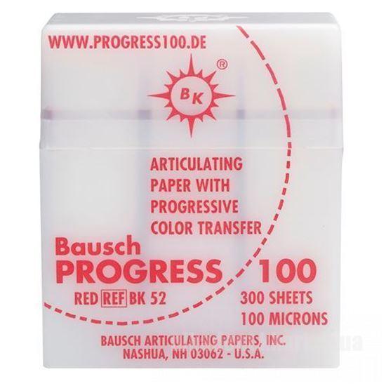 Фото Для зуботехнических лабораторий, АКСЕССУАРЫ, Артикуляционная бумага и окклюзионные спреи BK 52 артикуляционная бумага 300 листов красная 100 мкм.