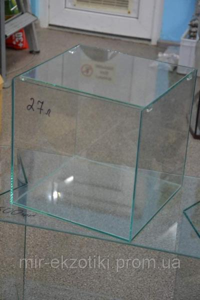 Нано аквариум  с крышкой  27л