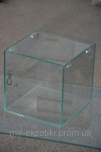 Нано аквариум с крышкой на 8л