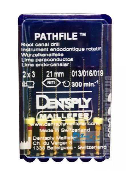 Фото Для стоматологических клиник, Эндоинструменты PathFile Maillefer - Пасфайлы (Майлифер)