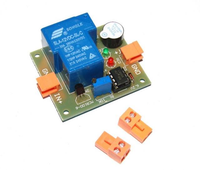 Контроллер для аккумулятора 12 В