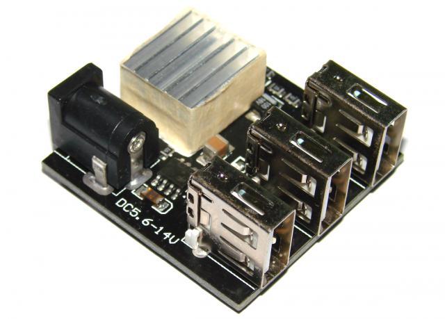 Зарядное устройство DC-DC 9 В/12 В до 5 В 8А