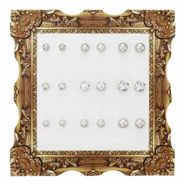 Набор сережек «Брейли» (9 пар)