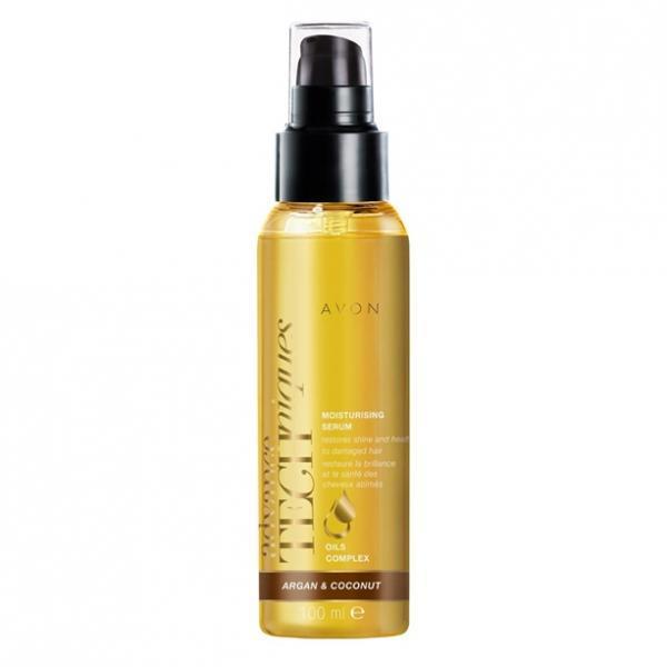 Фото для волос, advance techniques Увлажняющая сыворотка для волос с кокосовым маслом «Драгоценные масла»