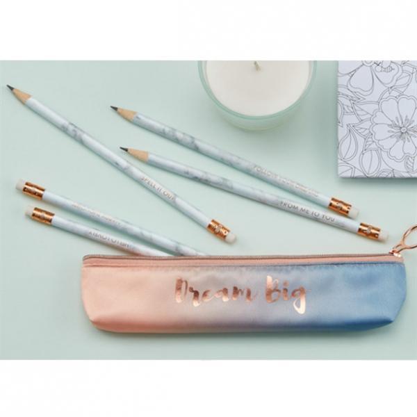 Набор простых карандашей (5 шт.)