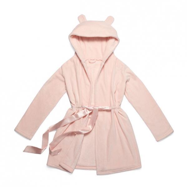 Домашняя одежда: женский халат (розовый)