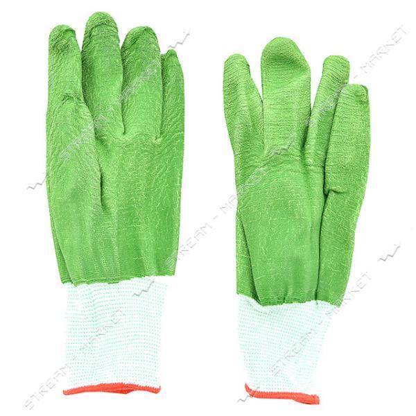 Перчатки рабочие цветные синтетика заливка пена