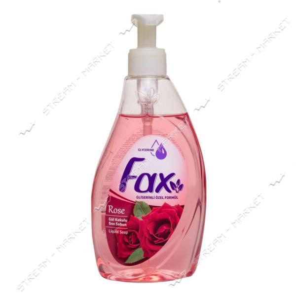 Fax Мыло жидкое Роза 400мл