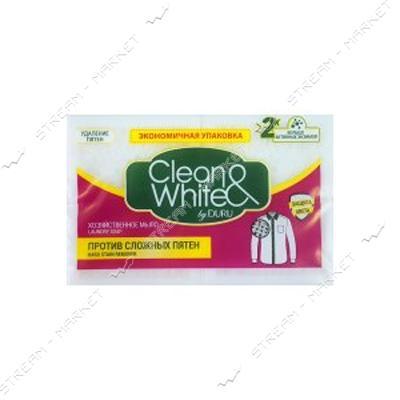 Duru Clean&White Мыло хозяйственное для удаления пятен 4*125г
