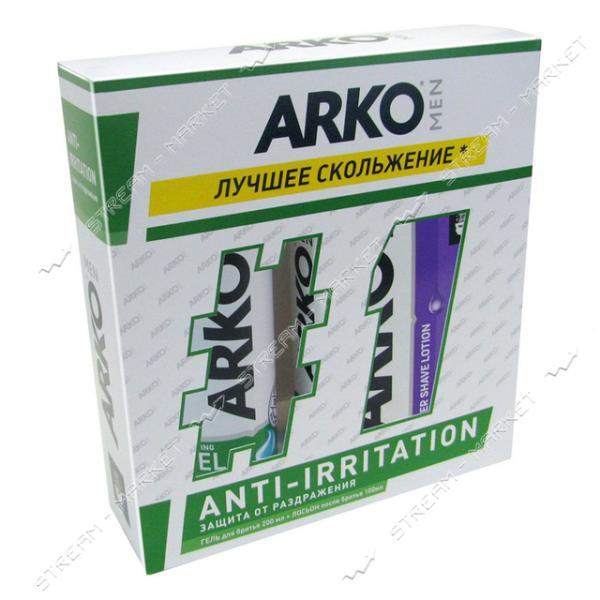 Подарочный набор Аrko мужской Anti-Irritation