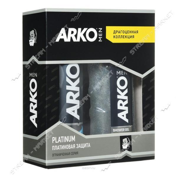 Подарочный набор Аrko мужской Platinum