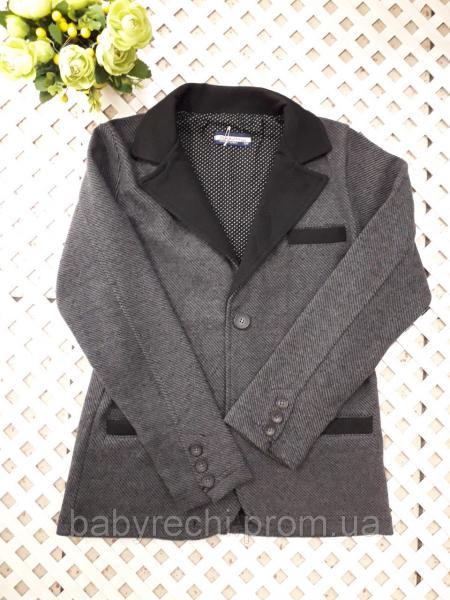 Стильный пиджак мальчику 134-152 см 146