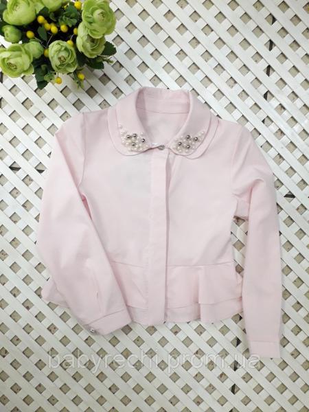 Красивая блузка для девочки 122-146 см 140