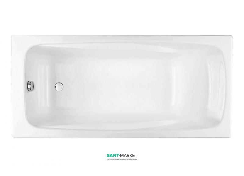 Ванна чугунная Jacob Delafon Repos 170x80 (без ручек) E2918-00