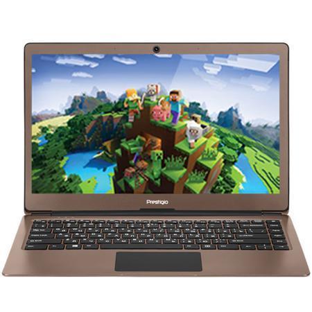 "Ноутбук Prestigio Smartbook 141S Intel N3350 / 3Gb / 32Gb SSD / 14.1"" / Win10 Dark Brown (Minecraft Edition)"