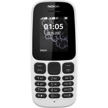 Мобильный телефон Nokia 105 Dual Sim (2017) White