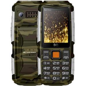 Фото  Мобильный телефон BQ Mobile BQ-2430 Tank Power Camouflage / Silver