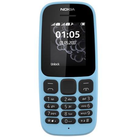 Мобильный телефон Nokia 105 Dual Sim (2017) Blue
