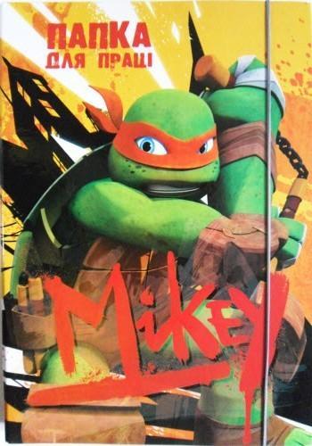 """Папка для праці А4 тверда на гумці """"Mikey"""""""