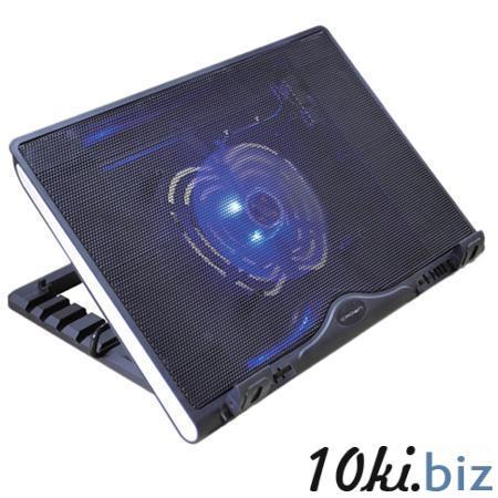 """Подставка охлажд. Crown CMLS-925 для ноутбука до 15,6"""", 1 вен. 140 мм, черная Подставки для ноутбуков в Москве"""
